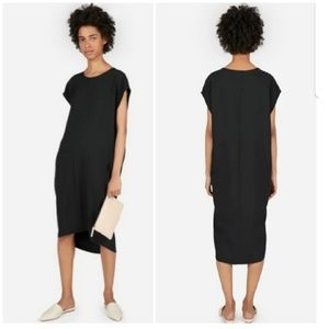 Everlane // Japanese Goweave Cocoon Midi Dress